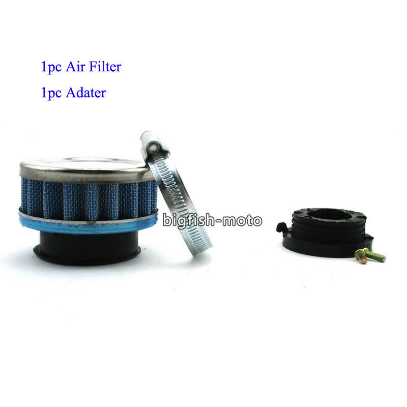 42mm air filter adapter stack for 47cc 49cc pocket bike