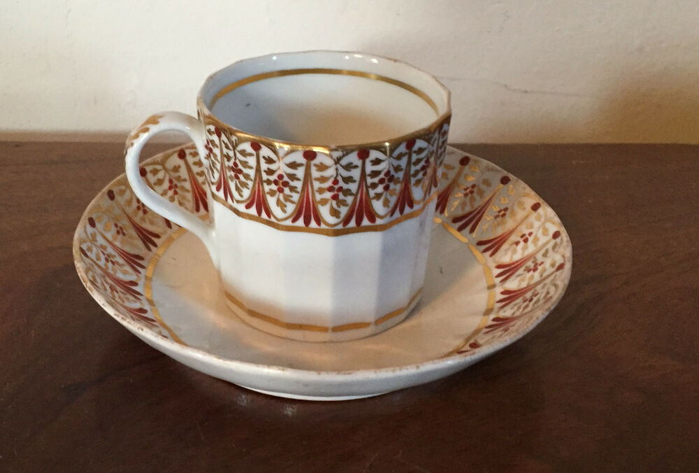Antique 18th Century English Worcester Porcelain Coffee
