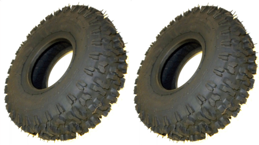 2 PK 8918 Carlisle Snow Hog 16x650x8 2 Ply Tubeless Tires
