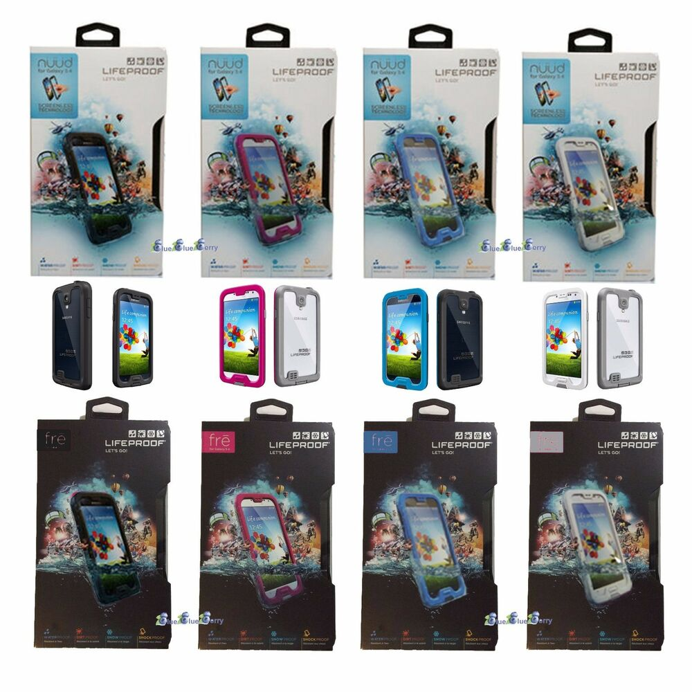 Authentic LifeProof Fre   Nuud Samsung Galaxy S4 SIV WaterProof Phone case 55f2901094