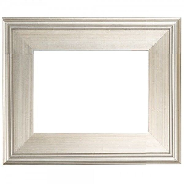 Modern Silver Frame For Plein Air Picture Oil Painting