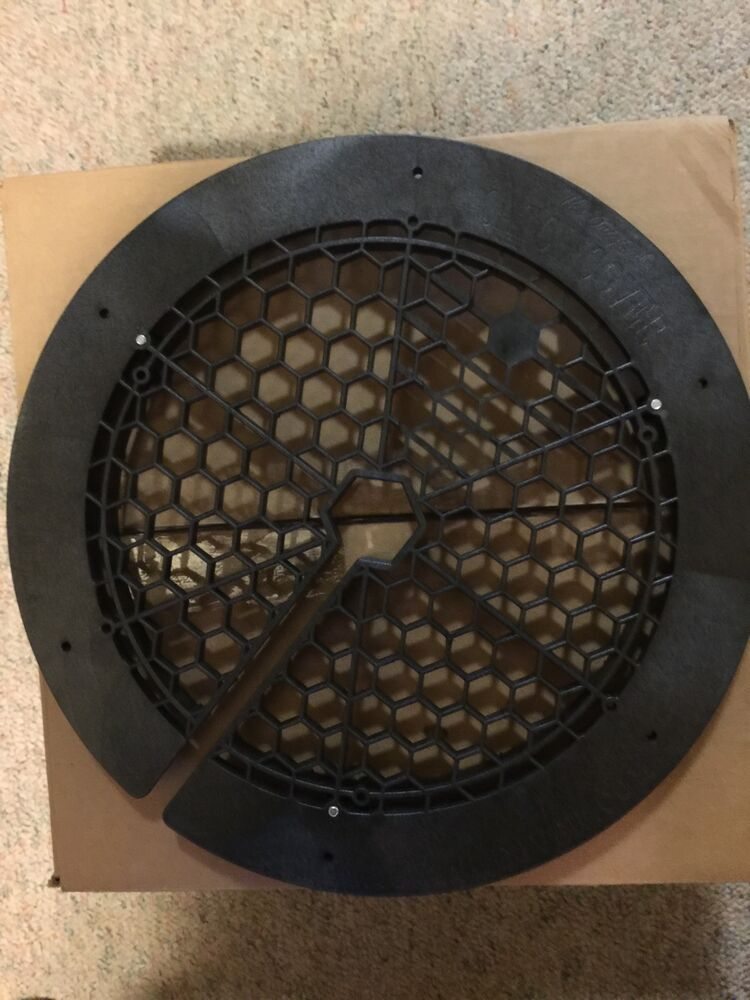 Catch cover safety grill hole cover for ice fishing for Ice fishing hole covers