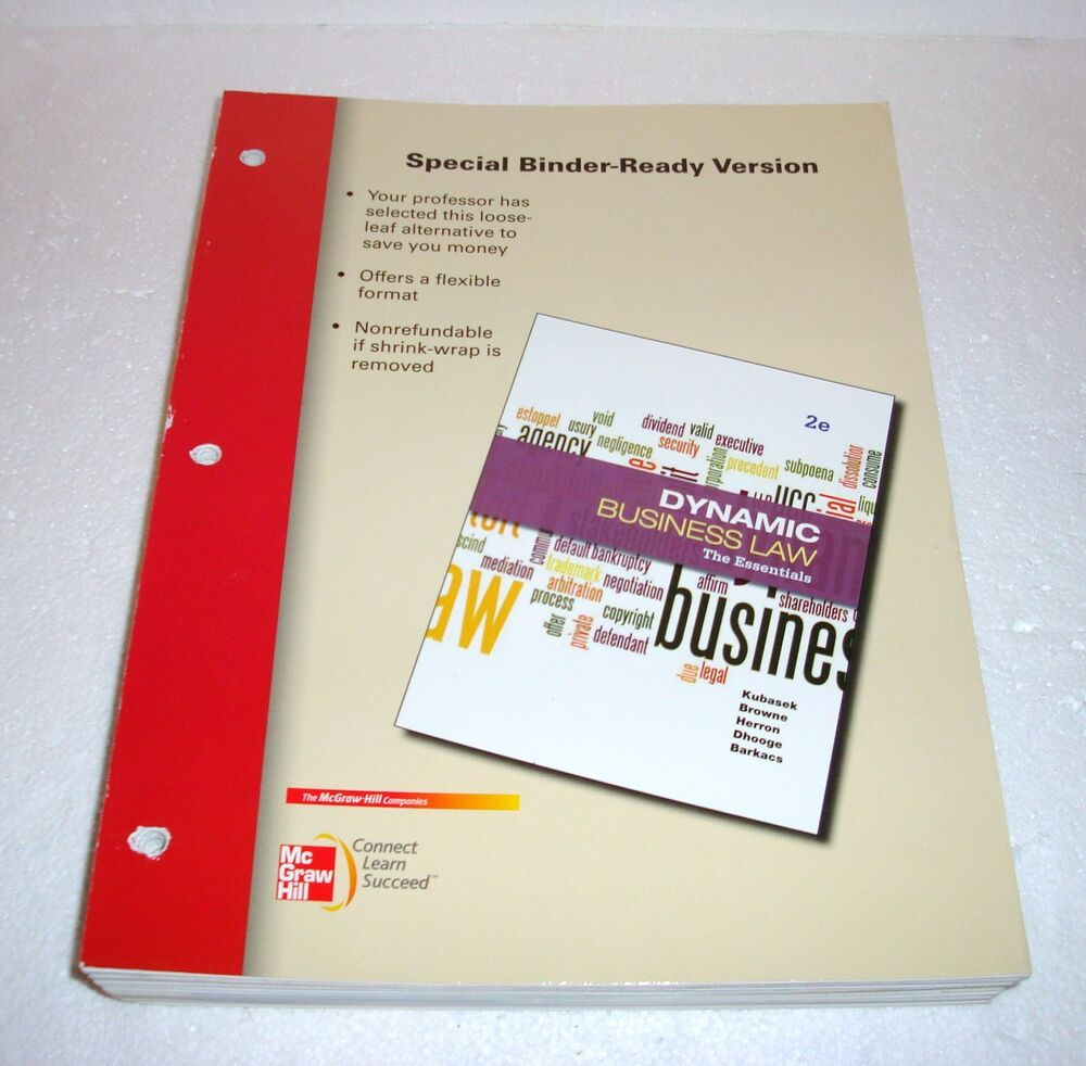 Dynamic Business Law Second Edition