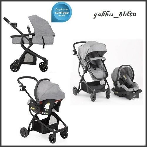 New Carriage Seat ~ Baby stroller car seat in travel system infant carriage
