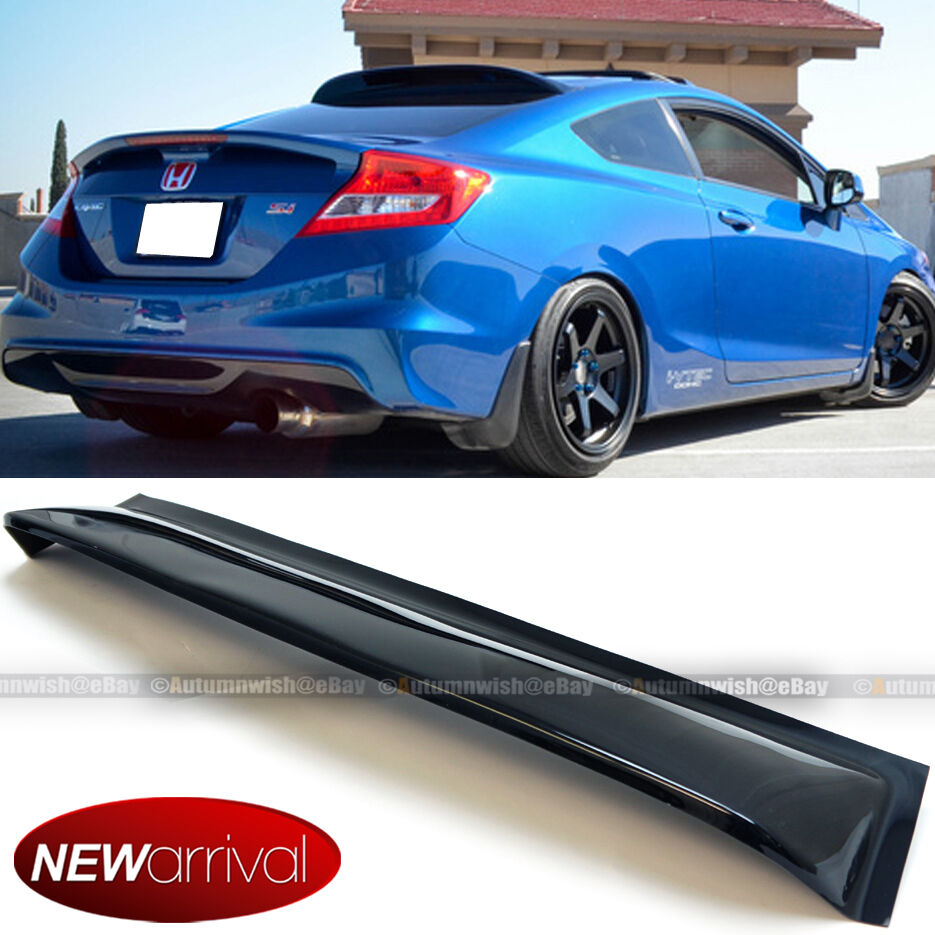 For 12-15 Civic 2dr Coupe Rear Window Roof Sun Rain Shade