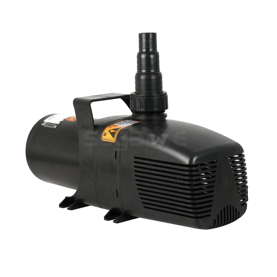 Superior 5283 gph pond water pump submersible fountain for Submersible pond pump and filter