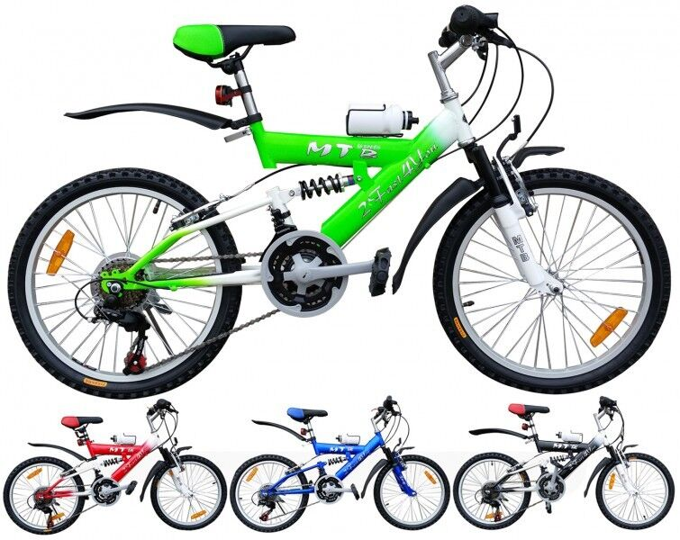 20 zoll kinderfahrrad mtb kinderrad kinder fahrrad kind. Black Bedroom Furniture Sets. Home Design Ideas