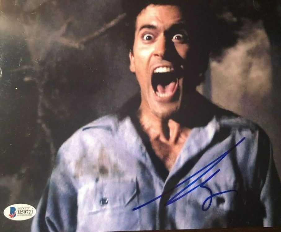 Bruce Campbell Signed Autographed 8x10 Photo Evil Dead Ebay