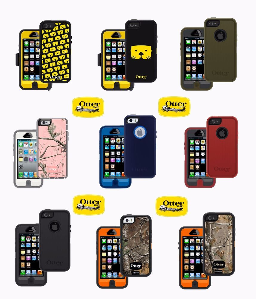 New Otterbox Defender Series Case For Iphone 5 5s Se W Holster