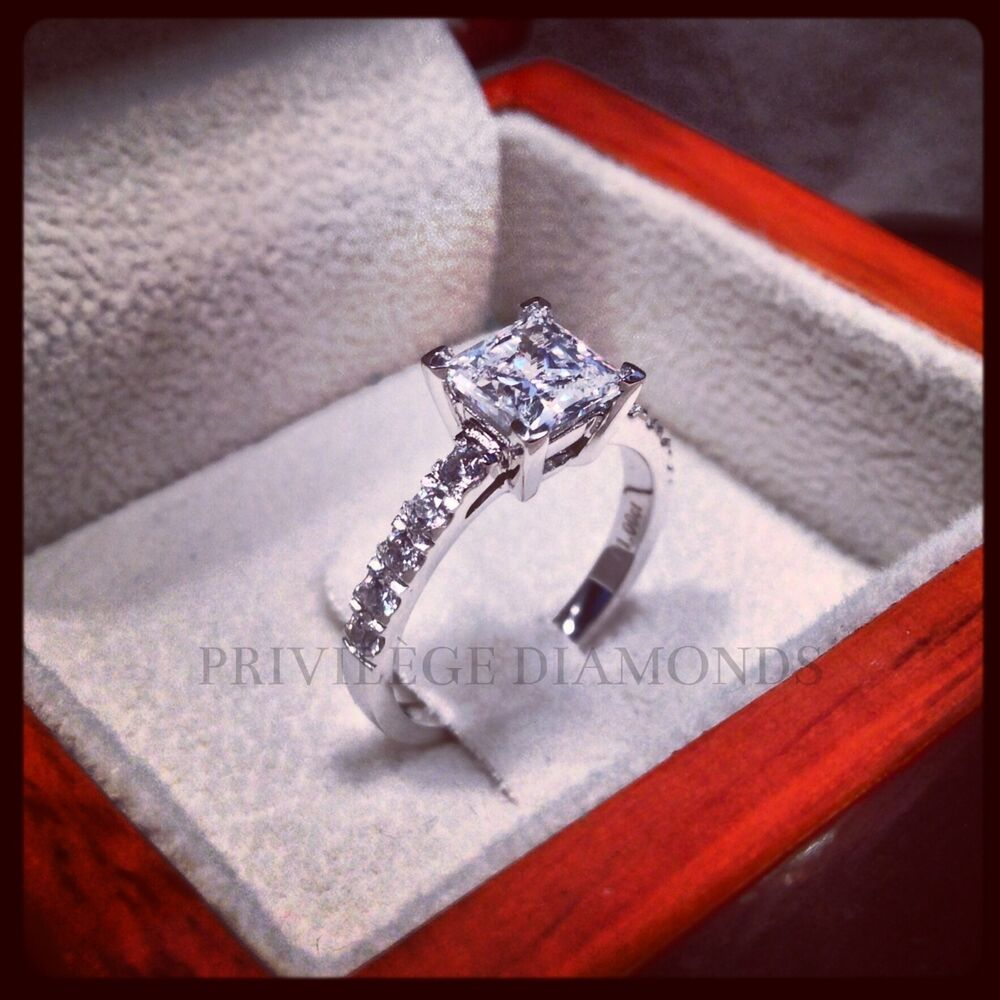 Ct Princess Cut Diamond Rings