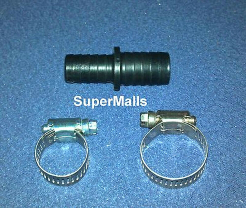 Heater hose connector kit for quot id with