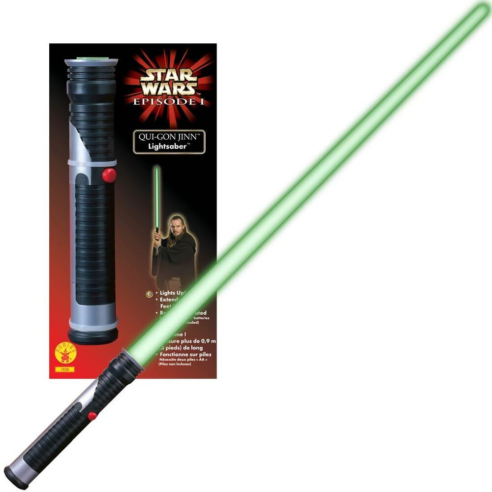Make sure this fits by entering your model number.; Act just like Darth Maul with a glowing, humming, clashing lightsaber that looks and feels just like the real thing Realistic lightsaber features a bright, glowing blade with power-up and power-down light effects, motion-sensor controlled sound effects and battle-clash lights and sounds.