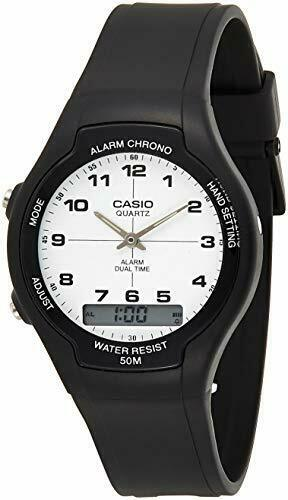 how to change analogue time on casio