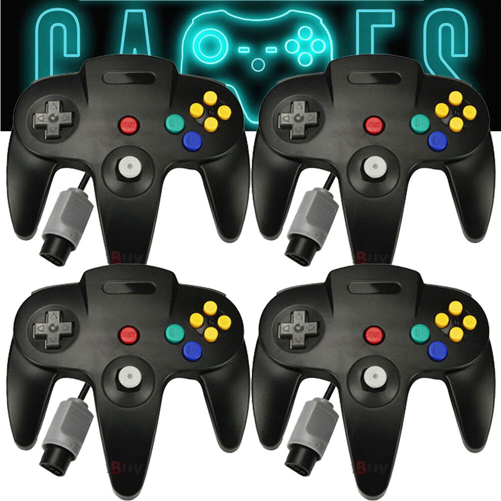 2 Pack Long Wired N64 Controller Pad Joystick for Nintendo