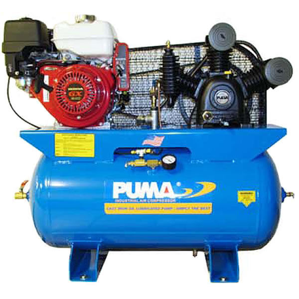 Puma Te 8030hge 8 Hp 30 Gallon Gas Powered Two Stage Truck