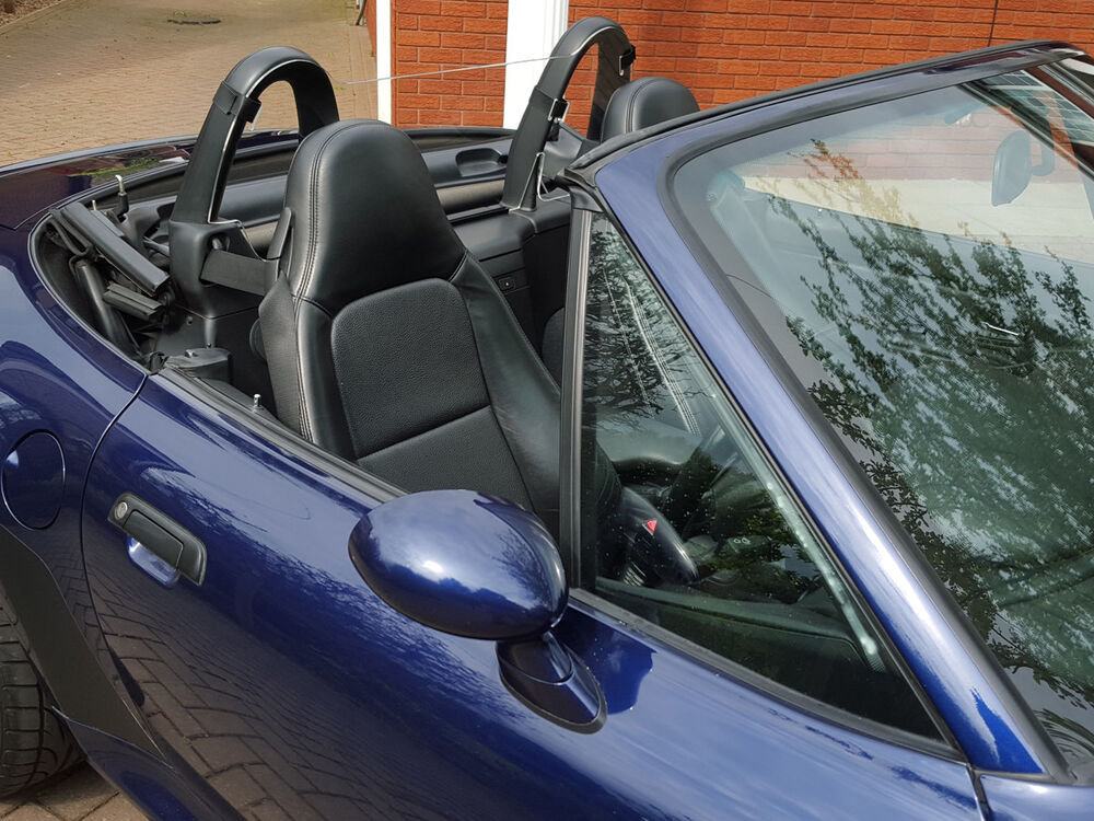 Bmw Z3 Wind Deflector Clear To Fit Standard Roll Bars Ebay
