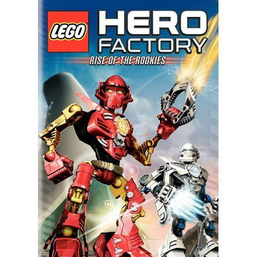 DVD LEGO HERO FACTORY Rise Of The Rookies One Exciting