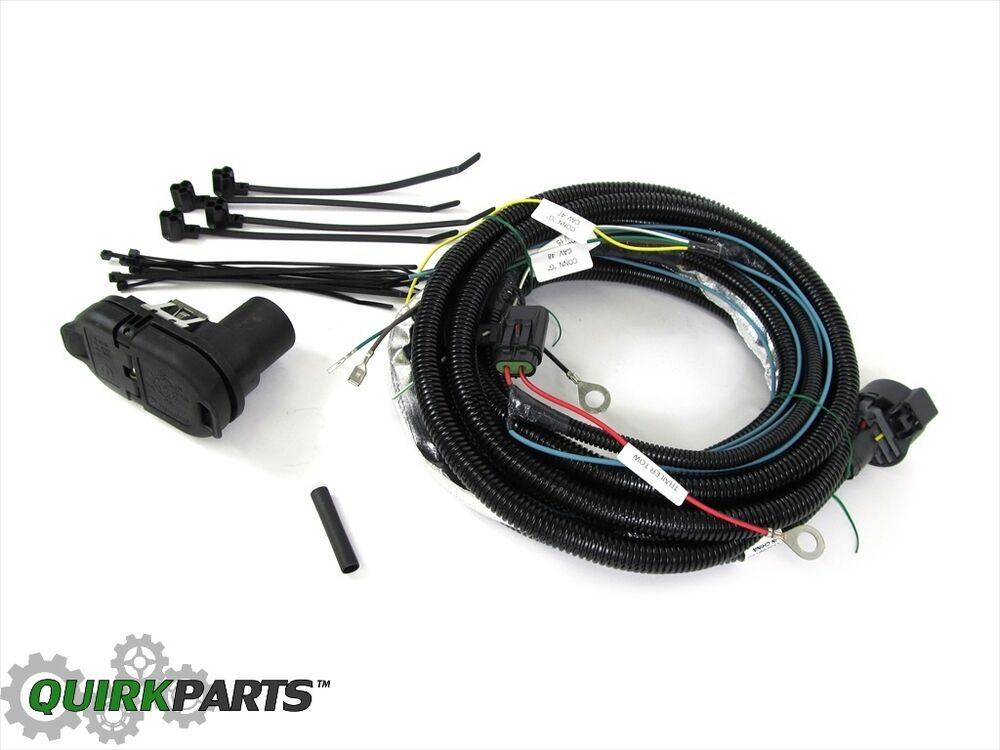 11-13 jeep grand cherokee dodge durango trailer tow wiring ... 90 jeep cherokee wiring for trailer