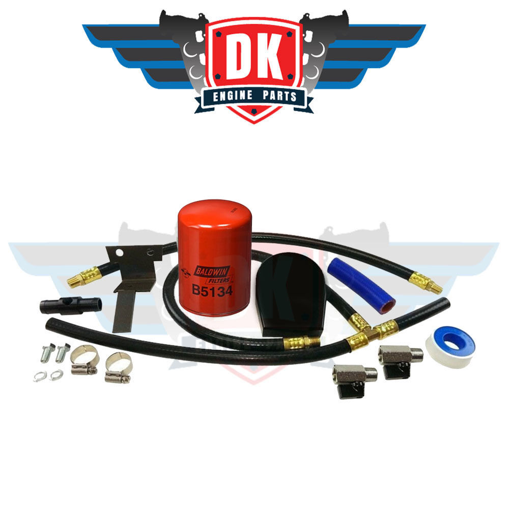 Dk diesel coolant filtration filter kit 2003 2007 ford for Kit filtration