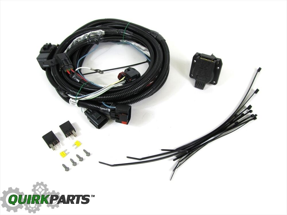 Jeep commander wiring harness for trailer tow way