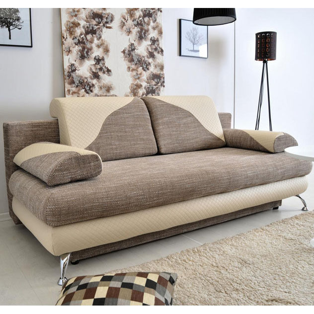 Sofa Bed With Storage For Sale: Sofa Bed CREMONA With Storage Container Sleep Function