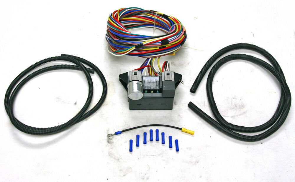 New Universal 12 Circuit Wire Harness Wiring Kit Hot Rod
