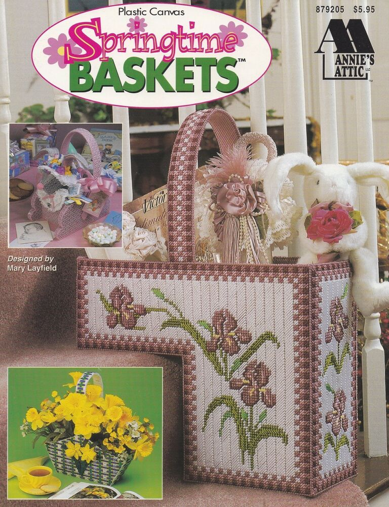 Exceptional image for free printable easter basket plastic canvas patterns
