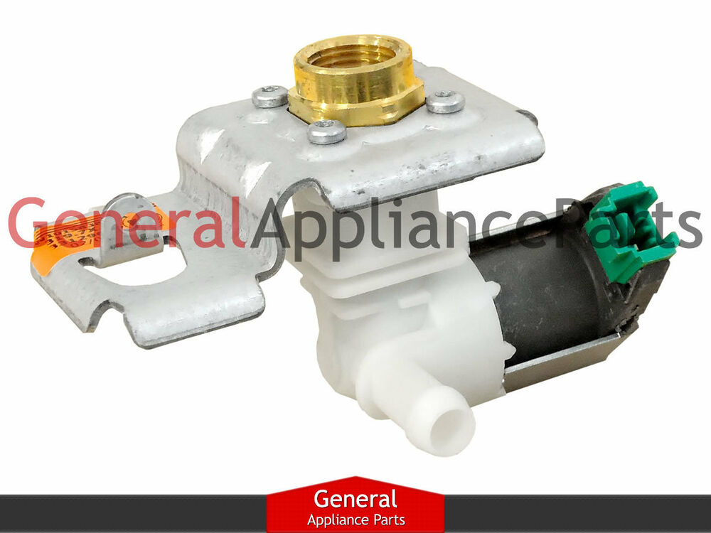 Whirlpool kitchenaid dishwasher water inlet valve w10158387 8563405 8558986 ebay - Kitchenaid dishwasher fill valve ...