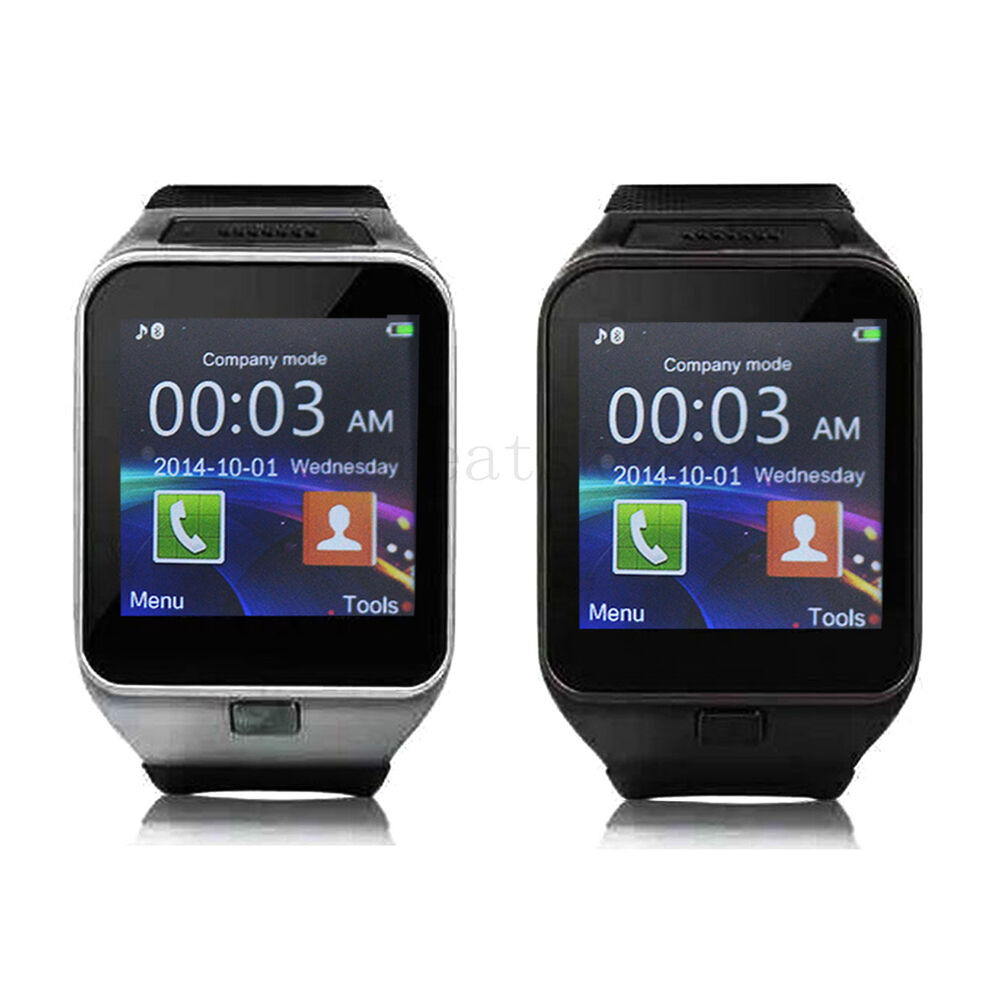 Bluetooth Smart Wrist Watch For Android Samsung Galaxy S6 ...