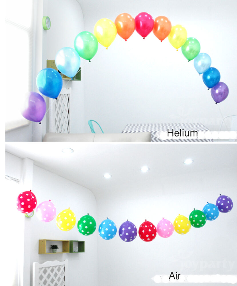 50x balloons arch kit set birthday party wedding for Balloon arch decoration kit