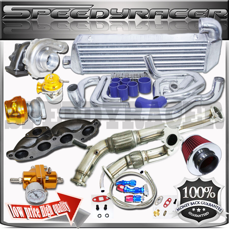 EMUSA Turbo Kit For 2002-2005 Honda Civic Si Hatchback EP3