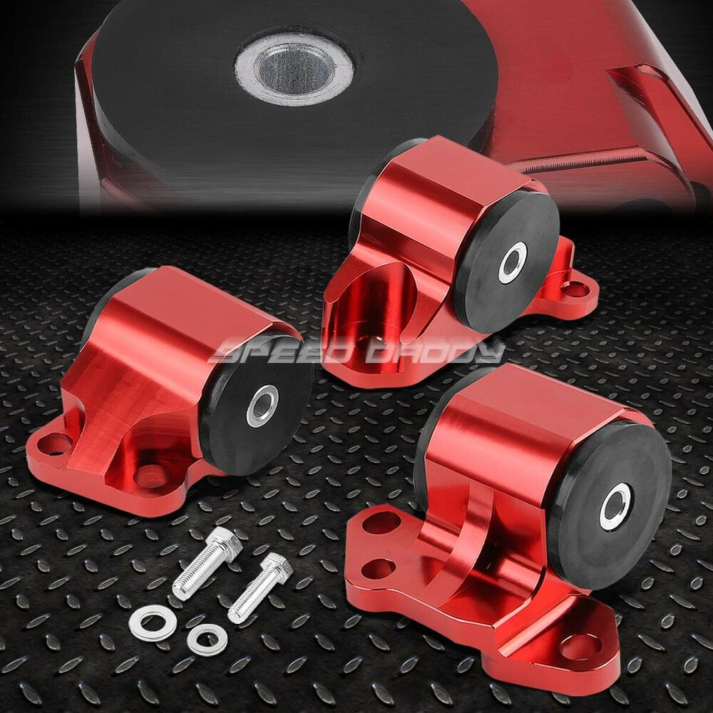 BILLET ALUMINUM 2-BOLT ENGINE MOUNT KIT EG EH/DC D15/D16