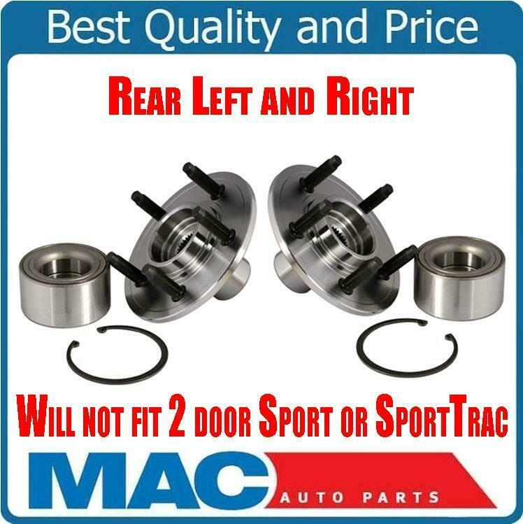 brand new left and right rear hub wheel bearing kit ford. Black Bedroom Furniture Sets. Home Design Ideas