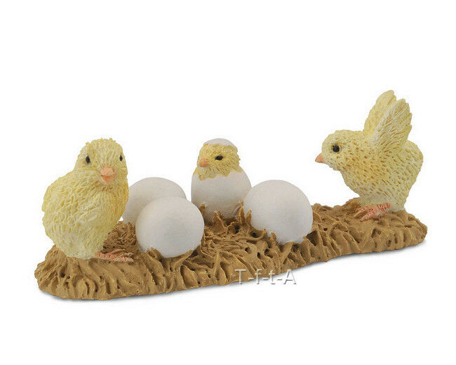 Toys For Chicks : Free shipping collecta baby chicks hatching toy