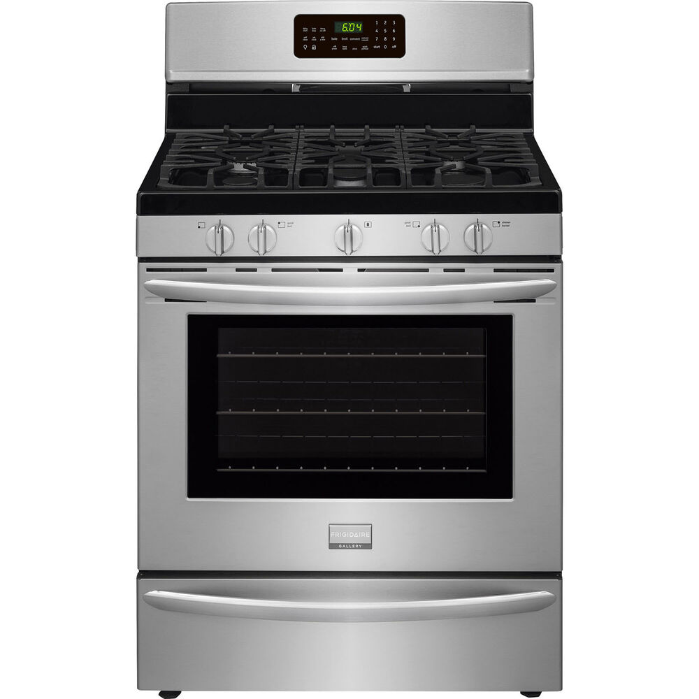 Frigidaire Stainless Steel 30 Quot Gas Convection Freestanding