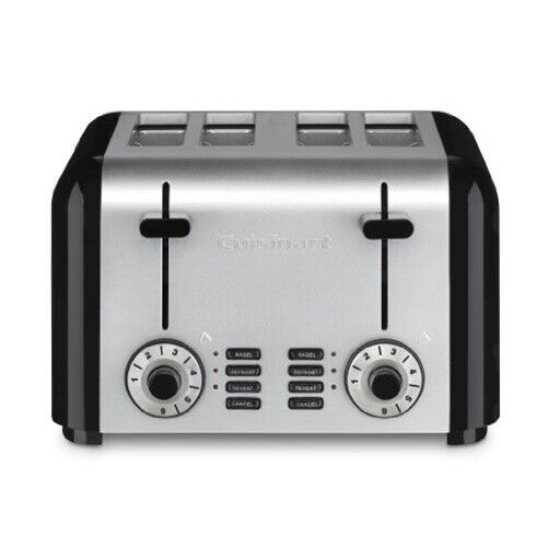 Cuisinart CPT 340 4 Slice pact Toaster Stainless Steel