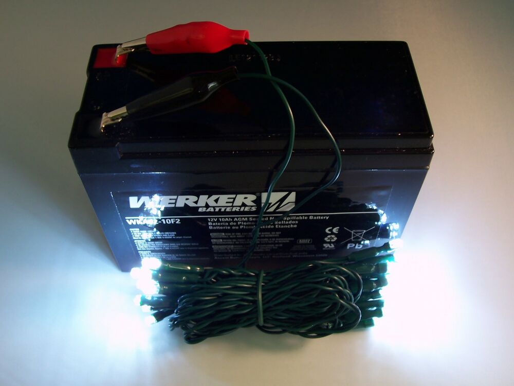 12 volt led ice fishing lights battery powered super for Battery operated fish