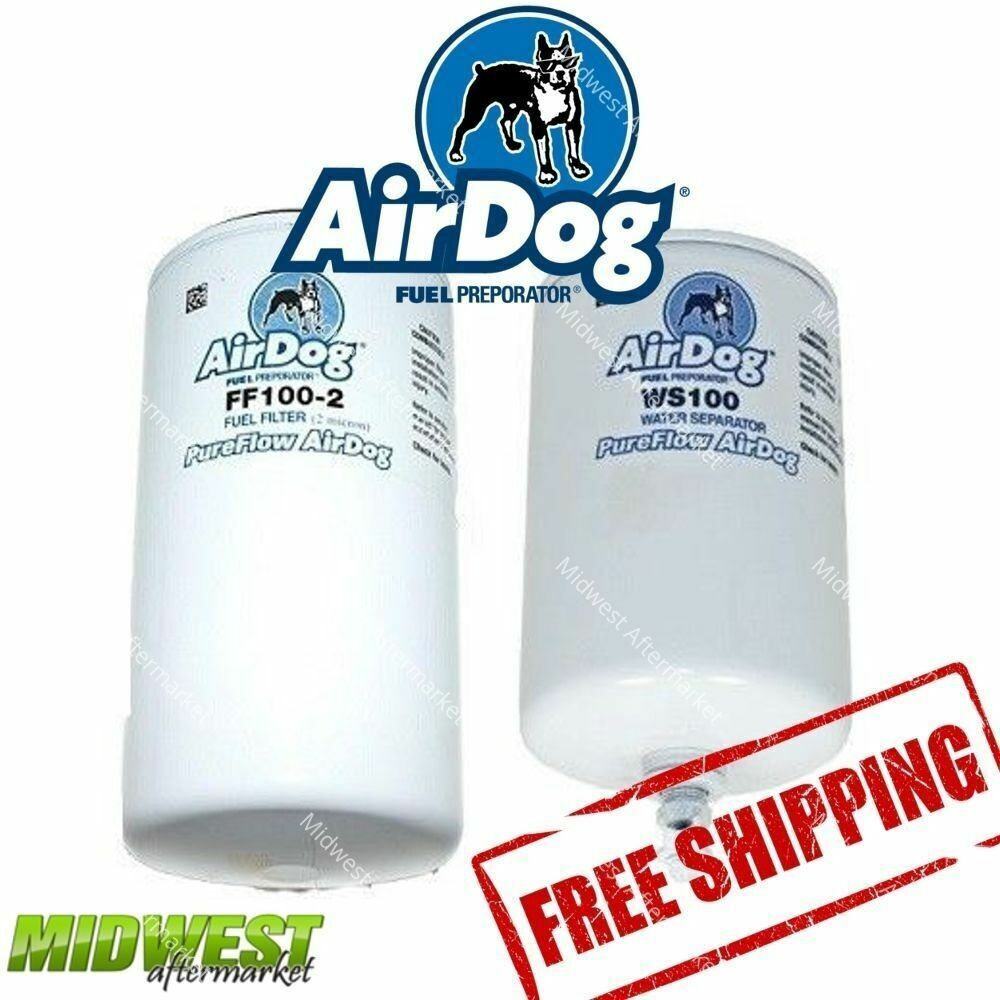 Ff100 2 Ws100 Airdog Ii Replacement Fuel Filter And Water Filters Separator 696226715325 Ebay