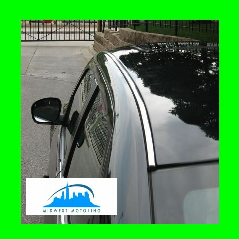 2005-2010 CHRYSLER 300 300C CHROME ROOF TRIM MOLDINGS 2PC