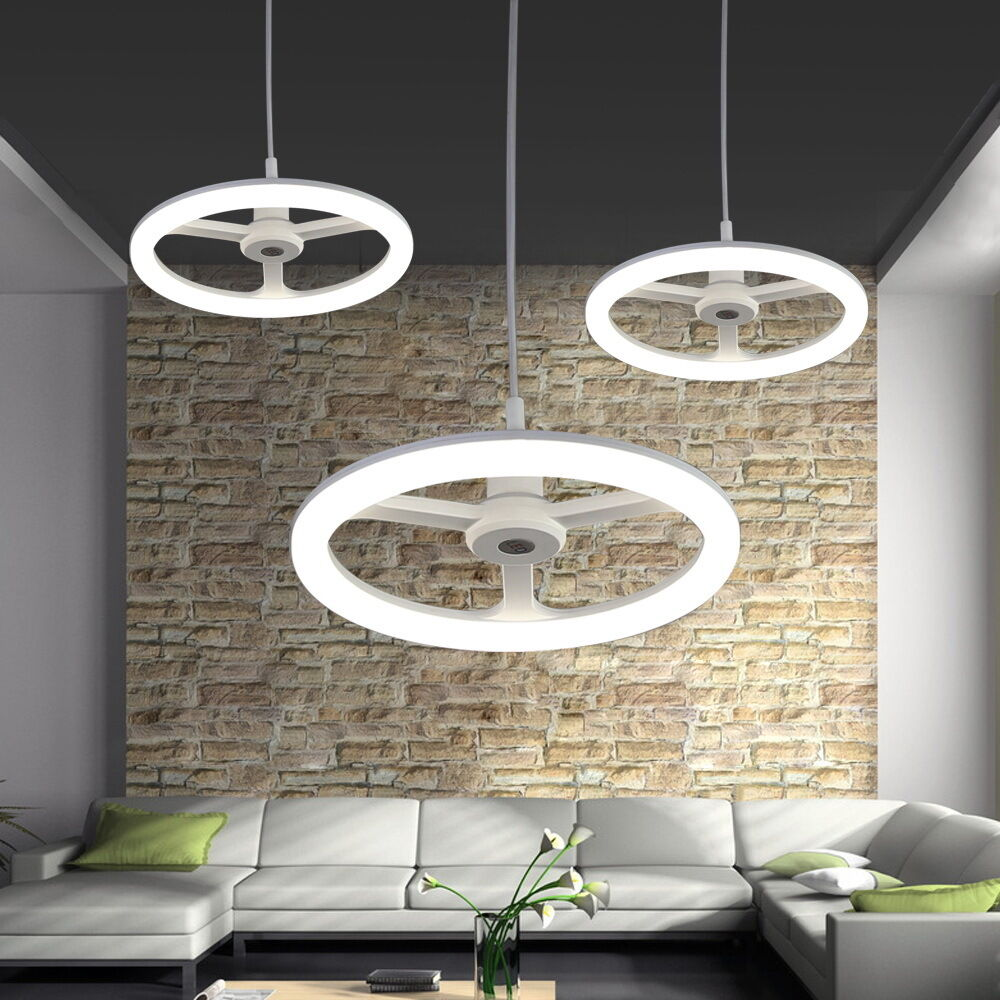 led design pendelleuchte deckenlampe kinderzimmer e27 6w neutralwei lampe ebay. Black Bedroom Furniture Sets. Home Design Ideas
