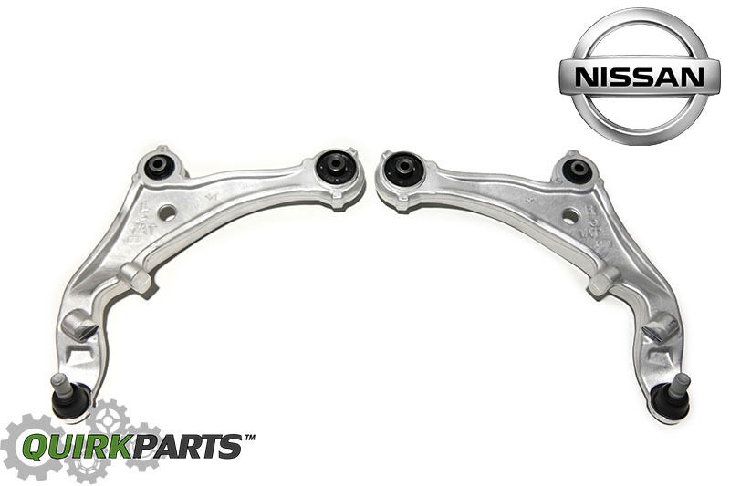 nissan murano front left right lower suspension control arm w   ball joint oem