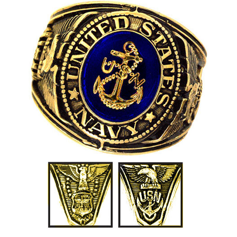 Military Rings Navy