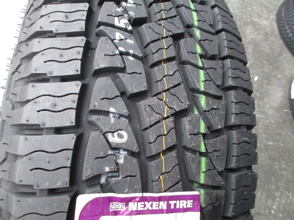 4 new 245 65r17 inch nexen roadian at pro tires 2456517. Black Bedroom Furniture Sets. Home Design Ideas