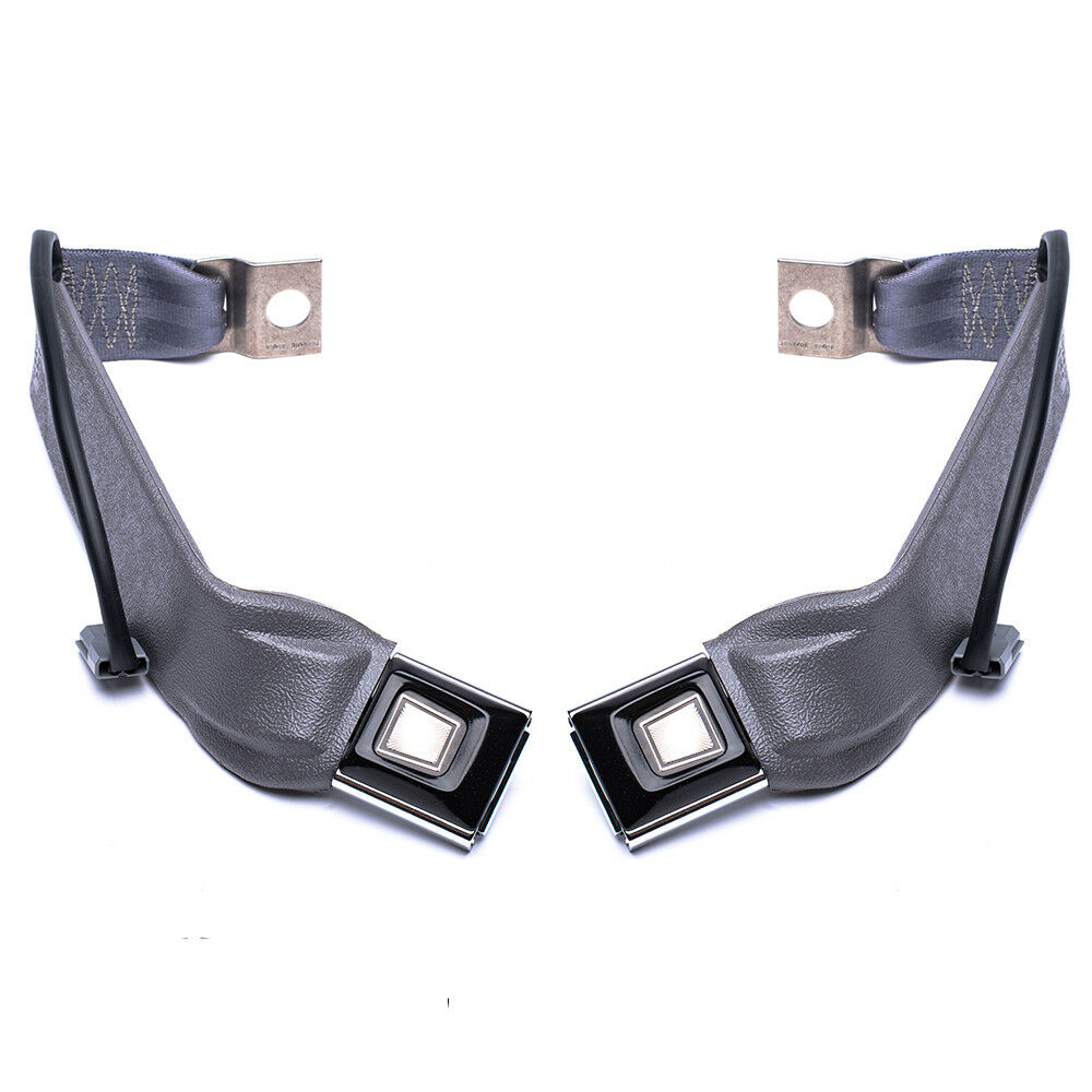 Ford F150 F250 F350 Bronco Front Bench Seat Belt Buckles