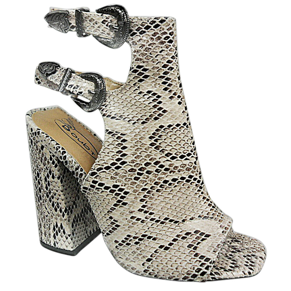 NEW LADIES MID BLOCK PEEP TOE OPEN BACK STRAP CUT OUT ...