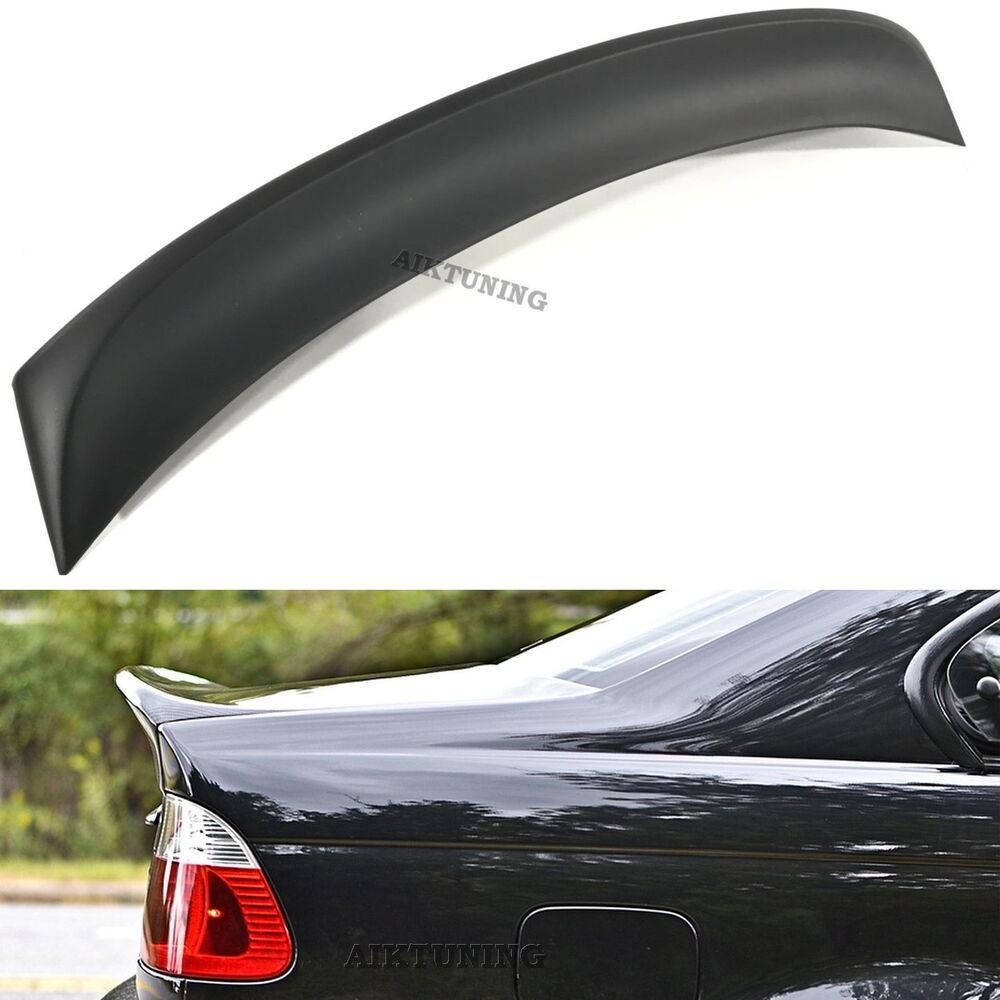 Bmw E46 Csl Rear Boot Lid Trunk Spoiler Ducktail Wing Lip