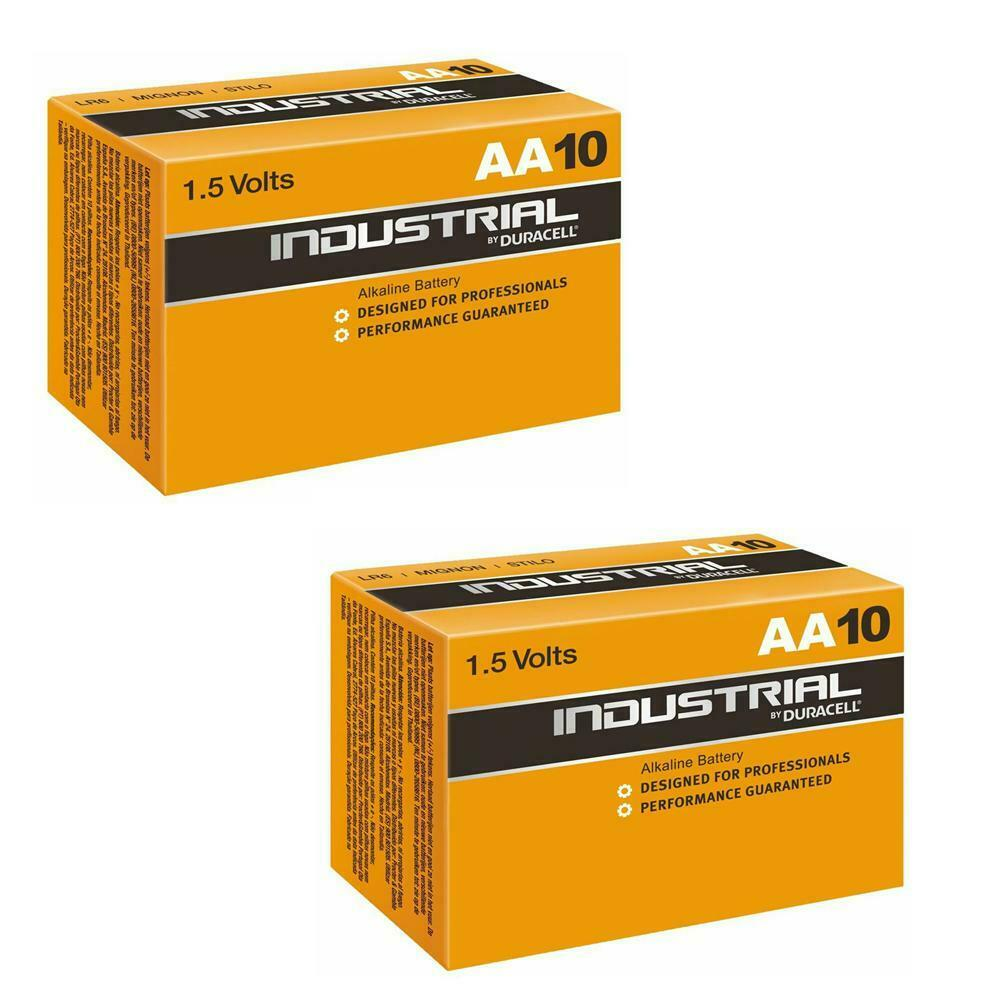 24x duracell industrial aa batteries alkaline 1 5v lr6 mn1500 procell battery am ebay. Black Bedroom Furniture Sets. Home Design Ideas