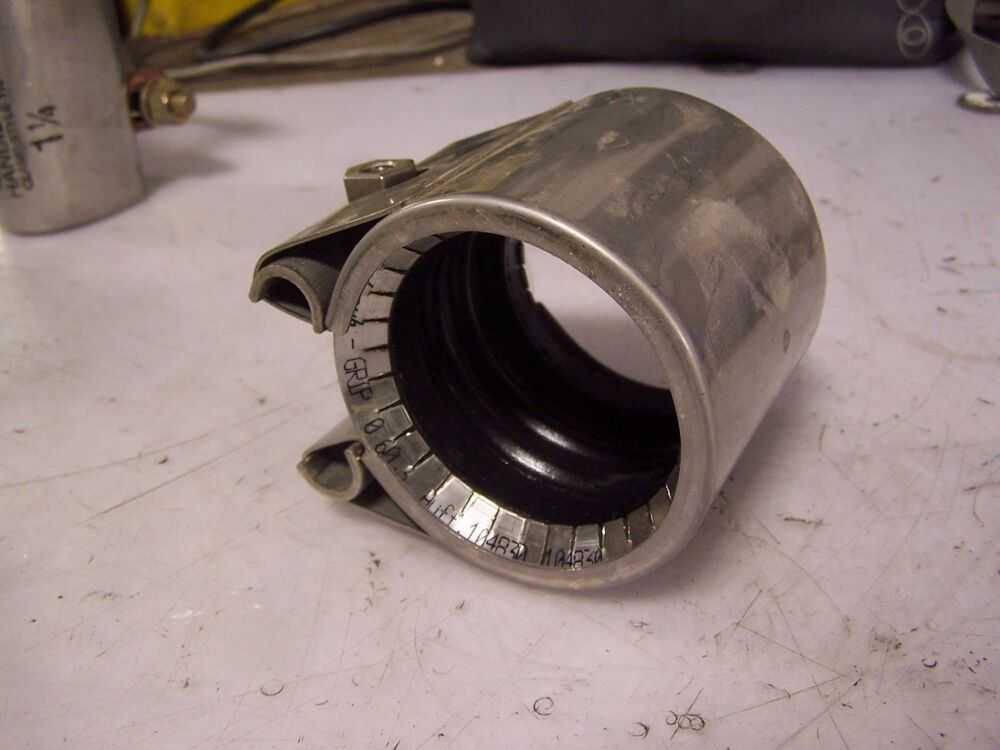 Metal Pipe Coupling : New straub grip l stainless steel quot pipe coupling