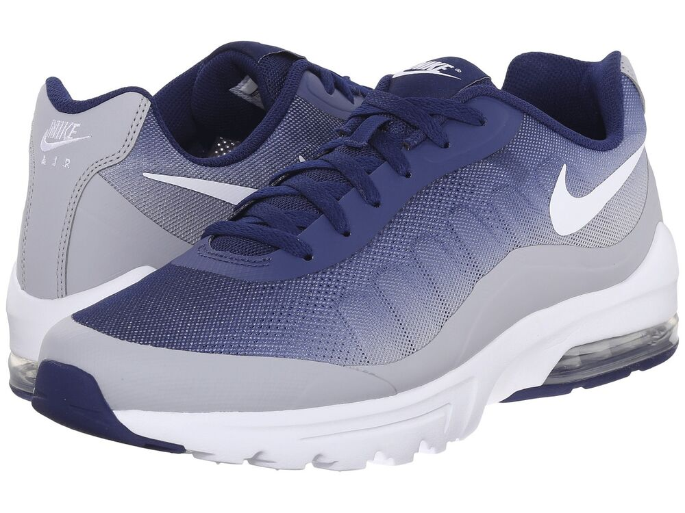 men 039 s nike air max invigor print running shoes gray blue ebay. Black Bedroom Furniture Sets. Home Design Ideas