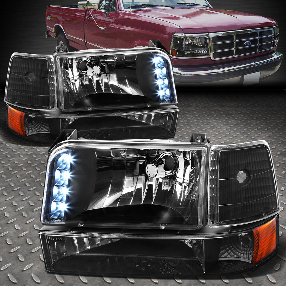 ford f150 led headlights ebay 2017 2018 2019 ford. Black Bedroom Furniture Sets. Home Design Ideas